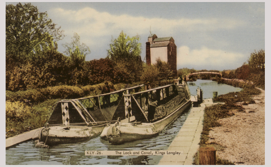 Toovey Mill Canal Barges